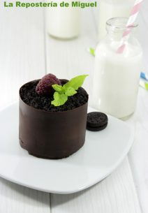 Mini-Tartas de Chocolate y Mascarpone