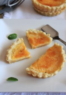 Naranja Brûlée Tart