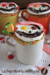 Confetti Taza-Cakes Piratas