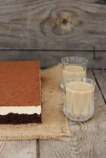 Brownie – Mousse de Baileys