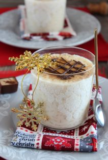Arroz con Leche con Chocolate Blanco y Cava