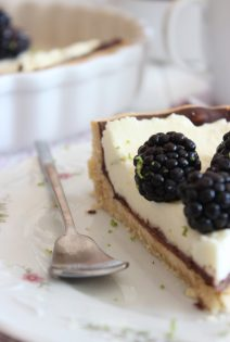 Tarta de Moras, Mascapone y Chocolate