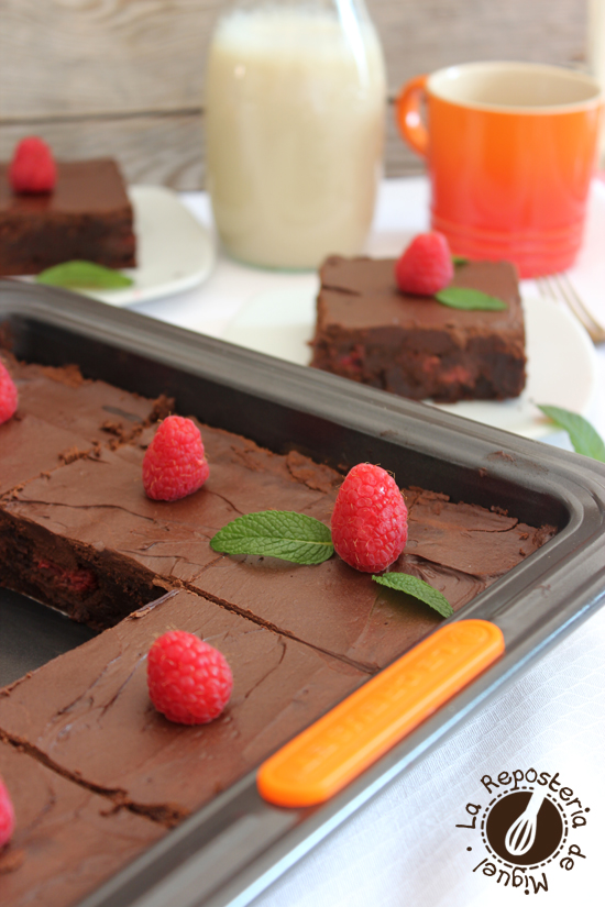 Frambuesa Brownie