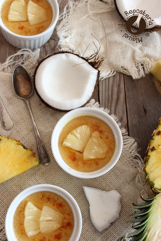 Crème Brûlée Piña Colada