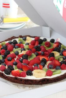 Pizza – Brownie de Frutas