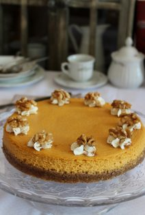 Calabaza Cheesecakes