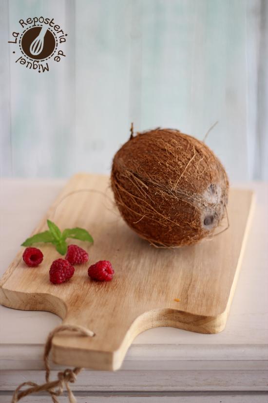 Flan de Coco y Chocolate