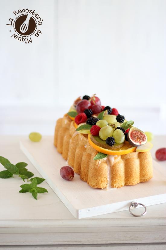 Loaf Cake de Limoncello y Fruta de Temporada