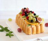 Loaf Cake de Limoncello y Frutas de Temporada