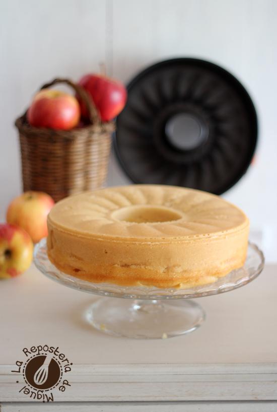 Bizcocho Francés de Manzanas