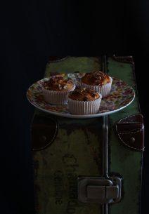 Muffins de Dulce de Leche, Coco y Nueces Pecanas