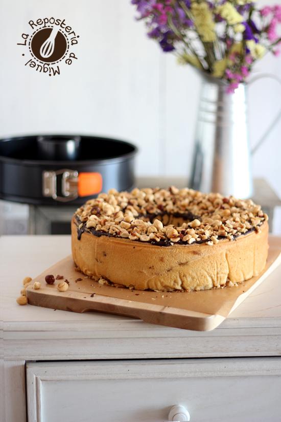 Hazelnuts Roll Bundt Cake