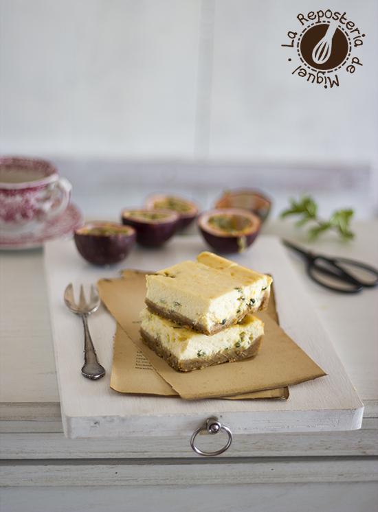 Cheesecakes de Fruta de la Pasión