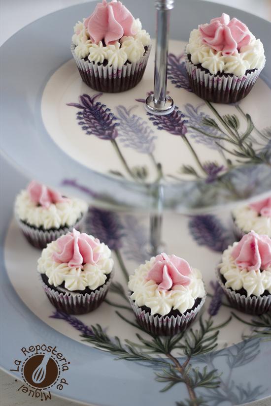 Mini Neapolitan Cupcakes