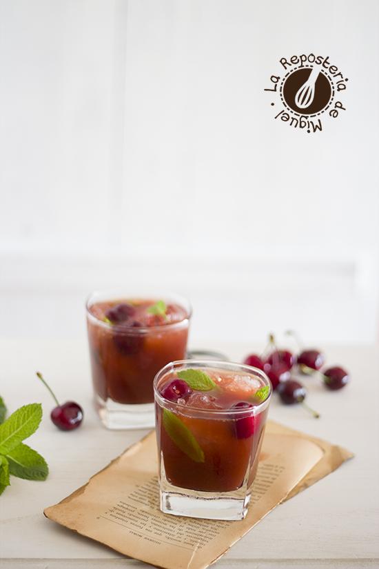 Mojito de Cerezas