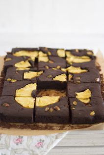 Brownie de Piña