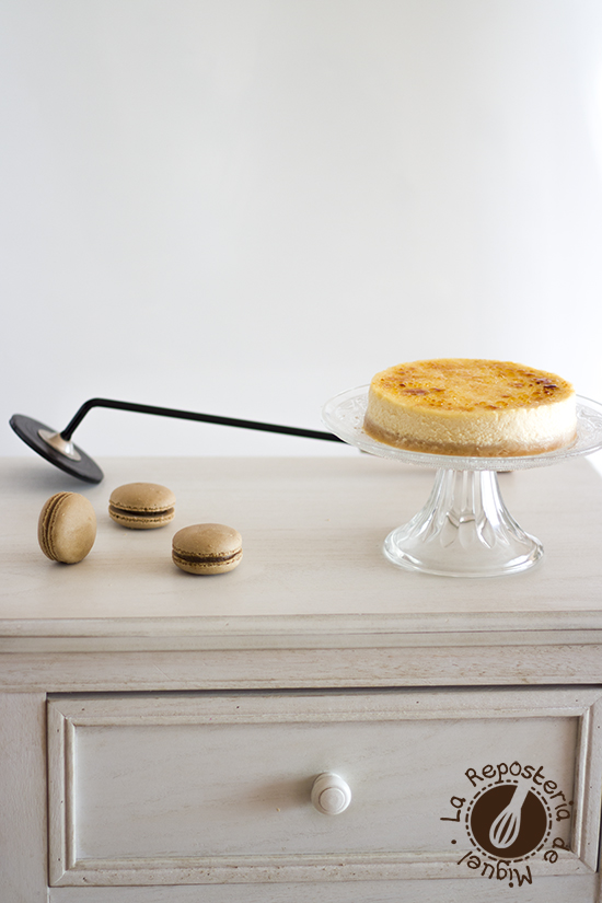 Tarta de Queso de Crema Catalana