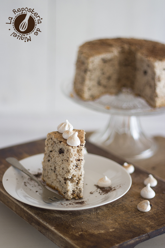 Angel Food Cake Stracciatella
