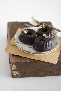 Mini Cakes de Chocolate y Jengibre