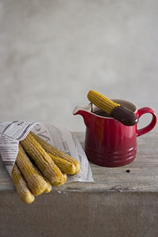 Churros de Calabaza