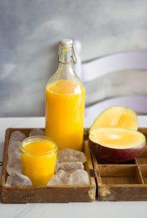 Smoothie Detox de Mango, Naranja y Jengibre