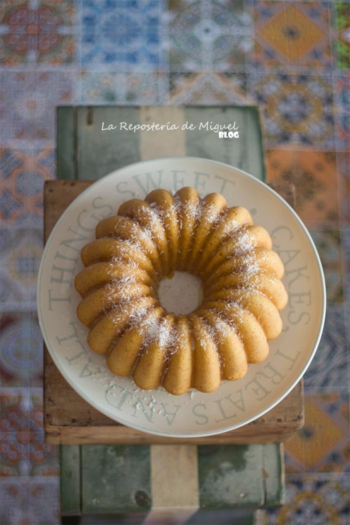 Bundt Cake de Azafrán y Coco