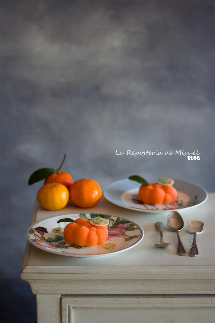 Mousse de mandarina