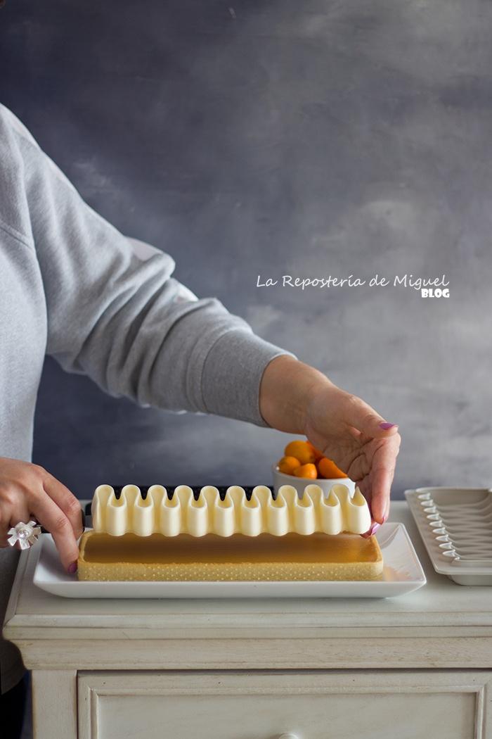 Tarta de Cítricos y Chocolate Blanco