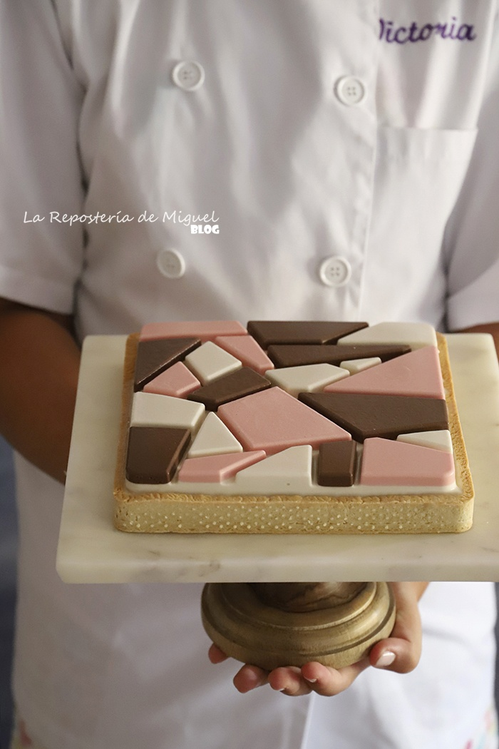 Neapolitan Mosaico Cake