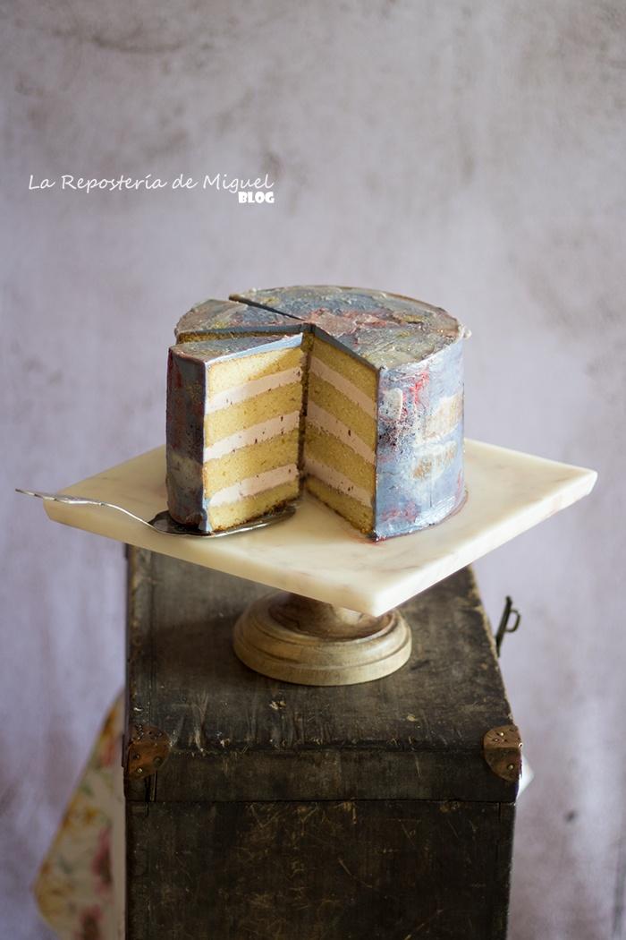 Acuarela Cake ( Cake a las 3 Leches )