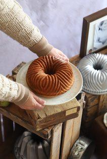 Bundt Cake de Peras, Vainilla y Kéfir