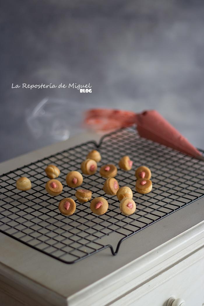 Choux con Craquelin y Mousseline de Limón