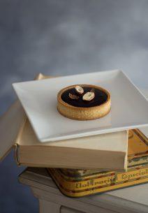 Tartaletas de Chocolate Negro con Haba Tonka