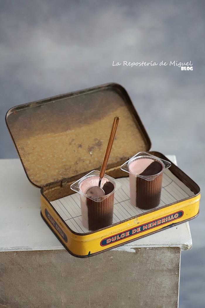 Petit Suisse de Chocolate y Fresa