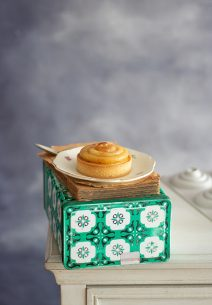 Tartaletas de Crema de vainilla y tatin de Manzana