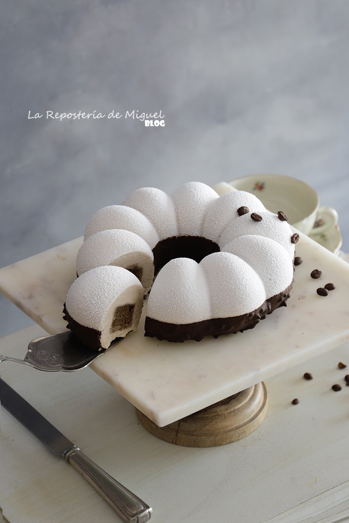Mousse Cake de avellanas y café