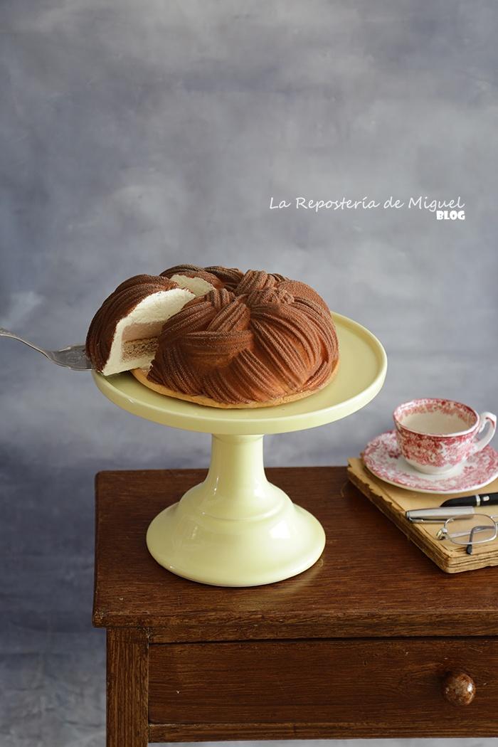 Mousse Cake Brioche Feuilletée