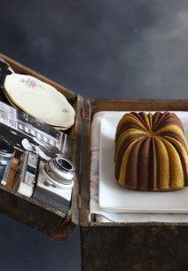 Bundt cake de chocolate y pistacho